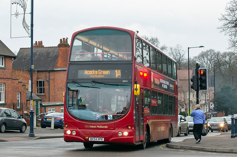 4653 BX54XPR, Moseley 24/1/2019
