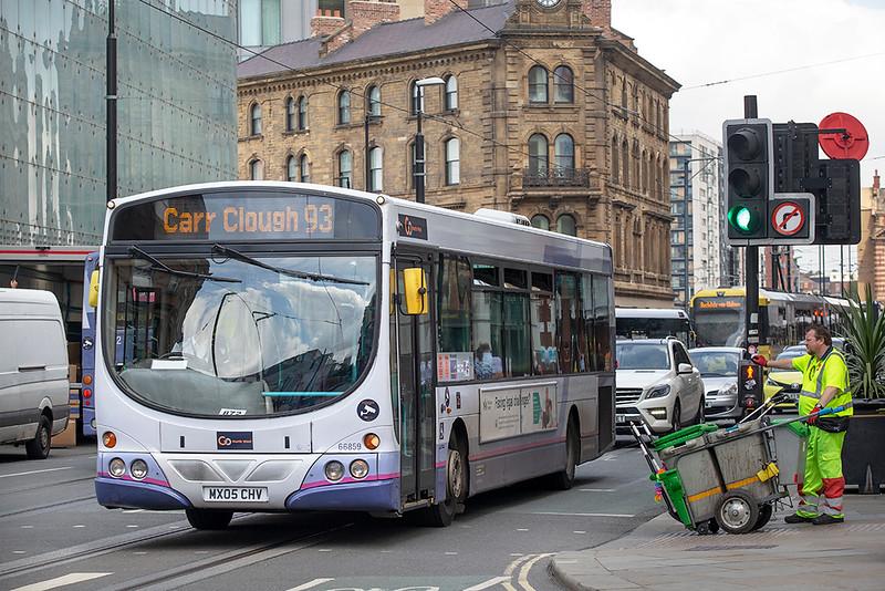 66859 MX05CHV, Manchester 24/7/2019
