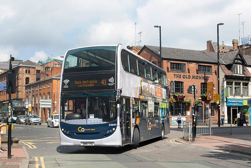 3101 SN14TTE, Manchester 24/7/2019