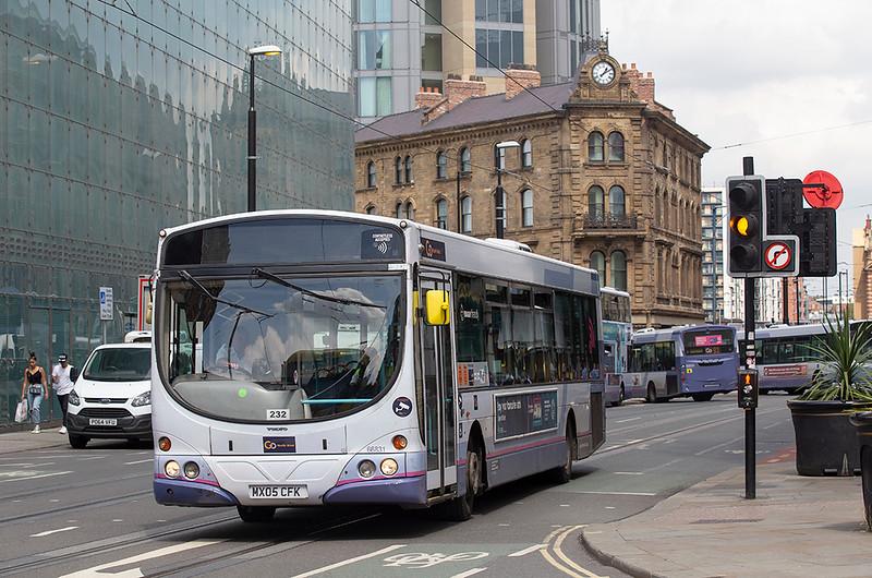 66831 MX05CFK, Manchester 24/7/2019