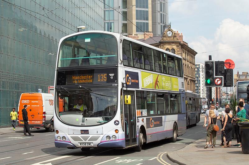 3230 MX58DWL, Manchester 24/7/2019