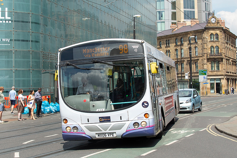 69205 MX06VPE, Manchester 24/7/2019