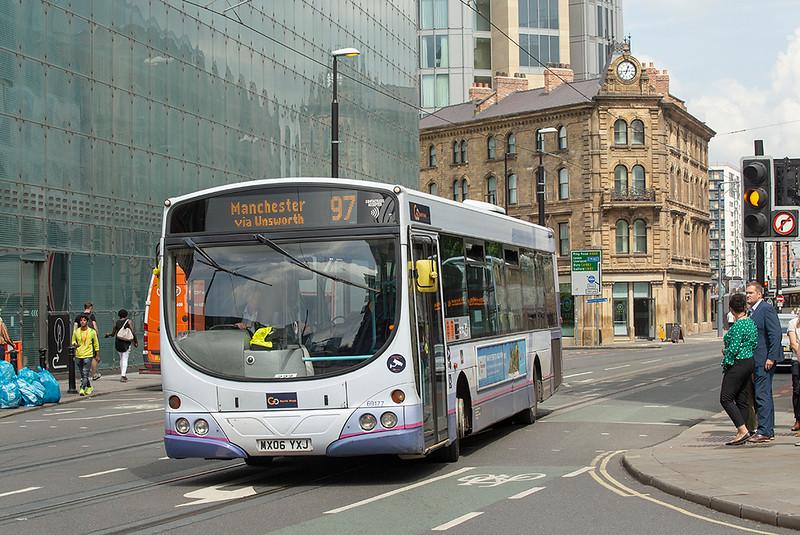 69177 MX06YXJ, Manchester 24/7/2019