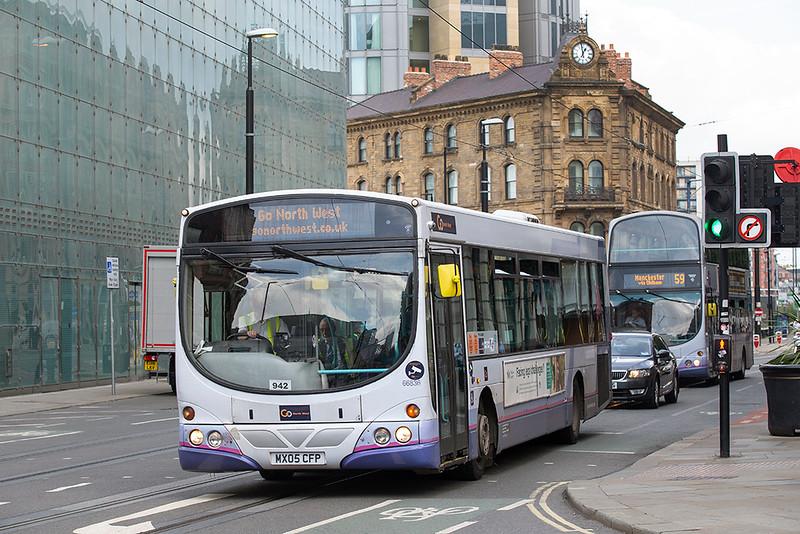 66836 MX05CFP, Manchester 24/7/2019