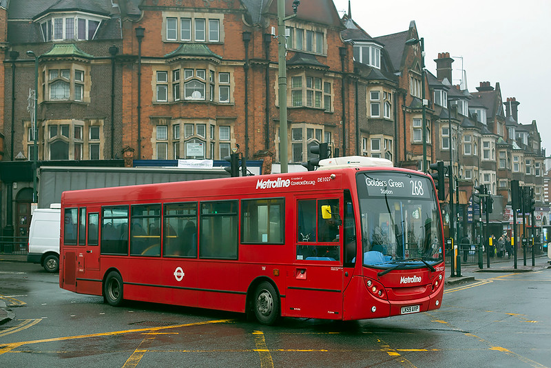 DE1027 LK59AVP, Golders Green 25/1/2019