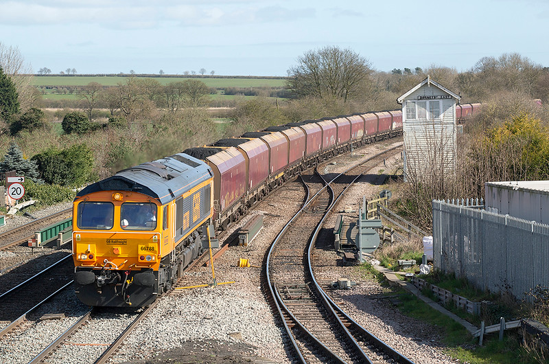 66788 Barnetby 25/3/2019<br /> 6H60 1042 Immingham HIT-Drax PS