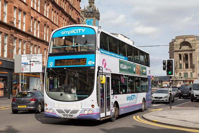 32556 SF54OSW, Glasgow 25/6/2019
