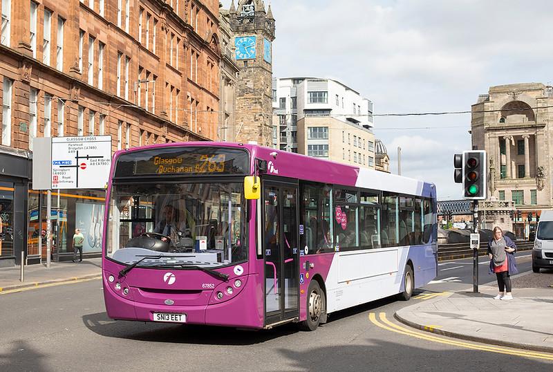 67852 SN13EET, Glasgow 25/6/2019