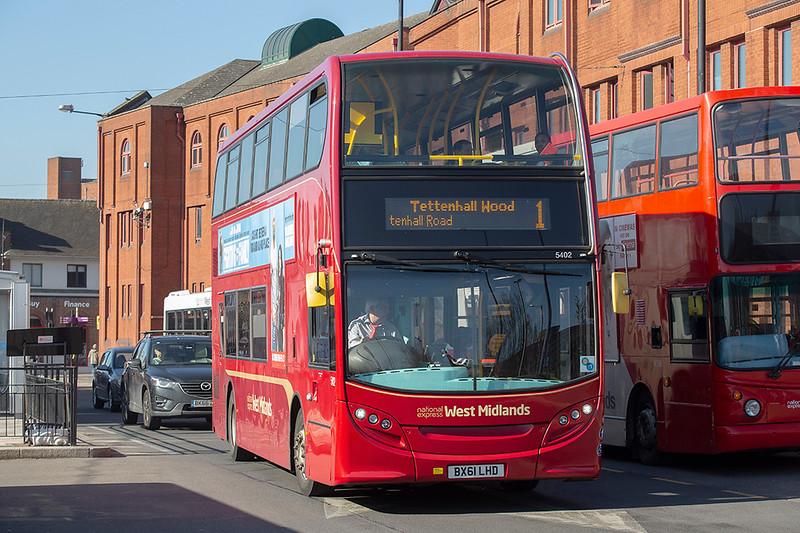 5402 BX61LHD, Wolverhampton 26/2/2019