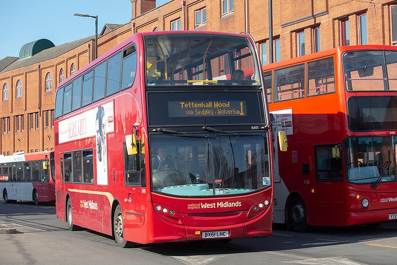 5401 BX61LHC, Wolverhampton 26/2/2019