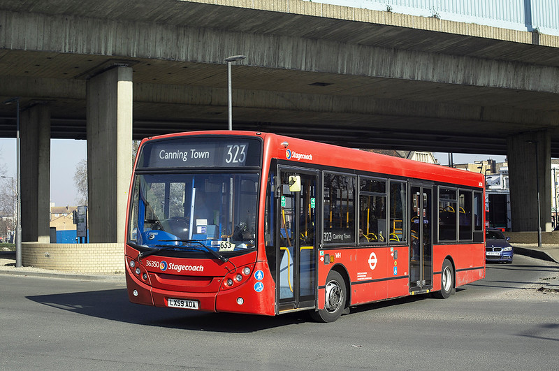 36350 LX59AOA, Canning Town 27/2/2019