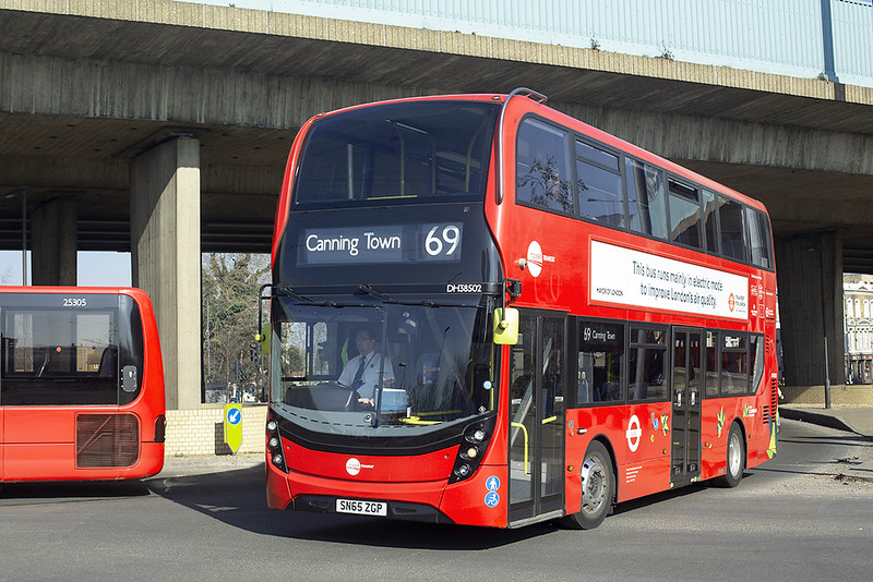 DH38502 SN65ZGP, Canning Town 27/2/2019