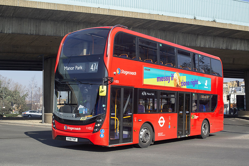 11053 YY18THF, Canning Town 27/2/2019