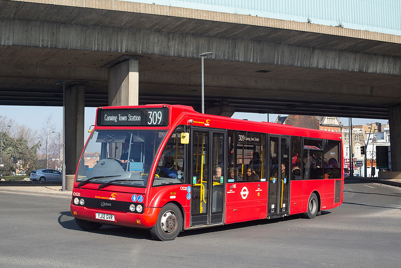 OS20 YJ12GVR, Canning Town 27/2/2019