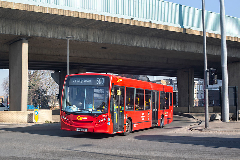 SE108 YX61BWE, Canning Town 27/2/2019