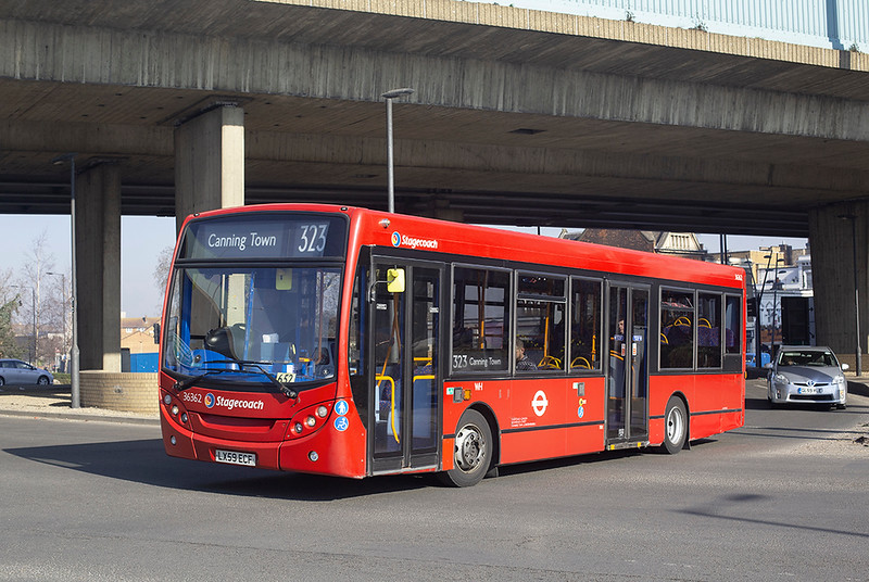 36362 LX59ECF, Canning Town 27/2/2019