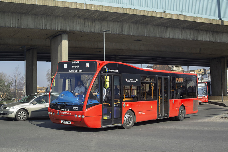 25303 LX58CHH, Canning Town 27/2/2019