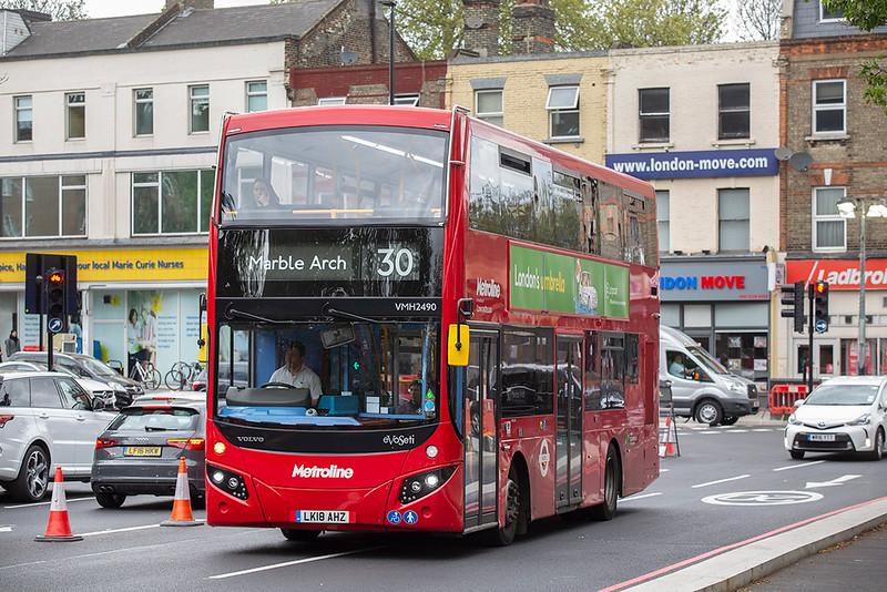 VMH2490 LK18AHZ, Highbury & Islington 28/4/2019