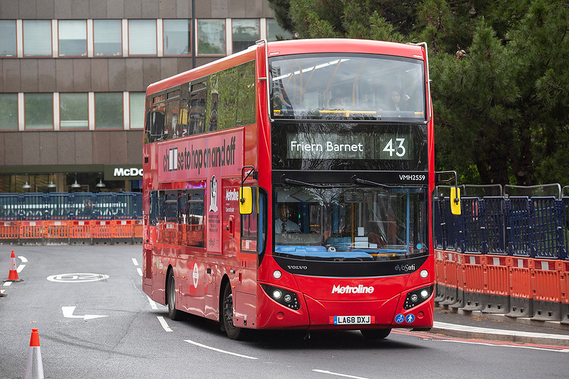 VMH2559 LA68DXJ, Highbury & Islington 28/4/2019