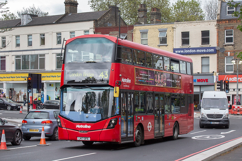 VWH2309 LK17DFE, Highbury & Islington 28/4/2019