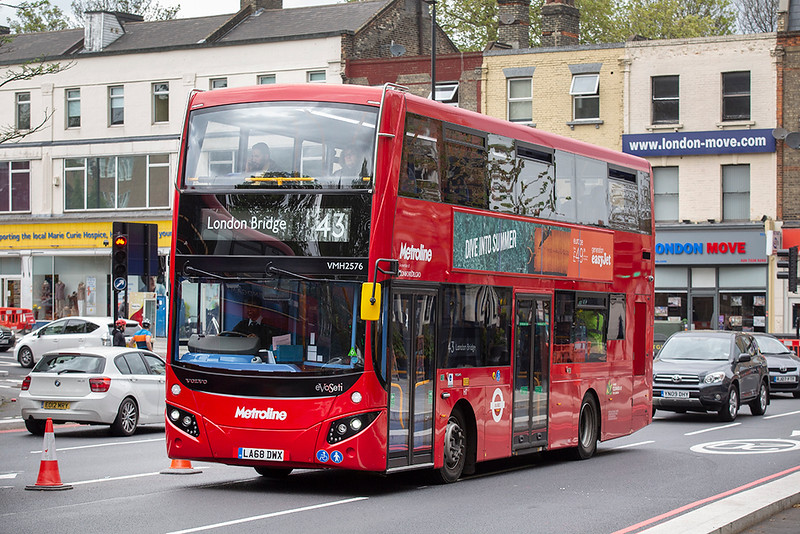 VMH2756 LA68DWX, Highbury & Islington 28/4/2019