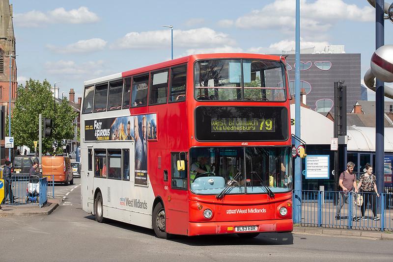 4540 BL53EDR, West Bromwich 29/7/2019