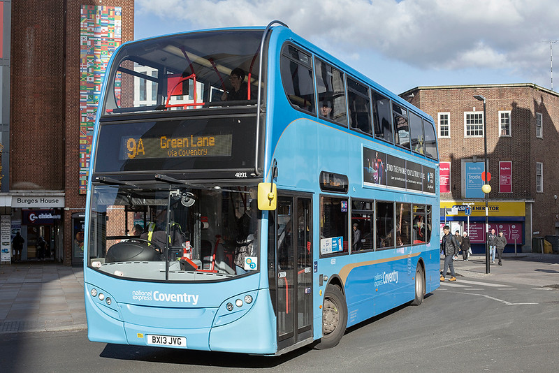 4891 BX13JVG, Coventry 29/10/2019