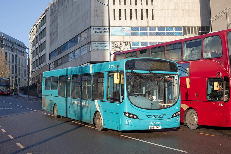 3805 MX61AWP, Birmingham 29/11/2019