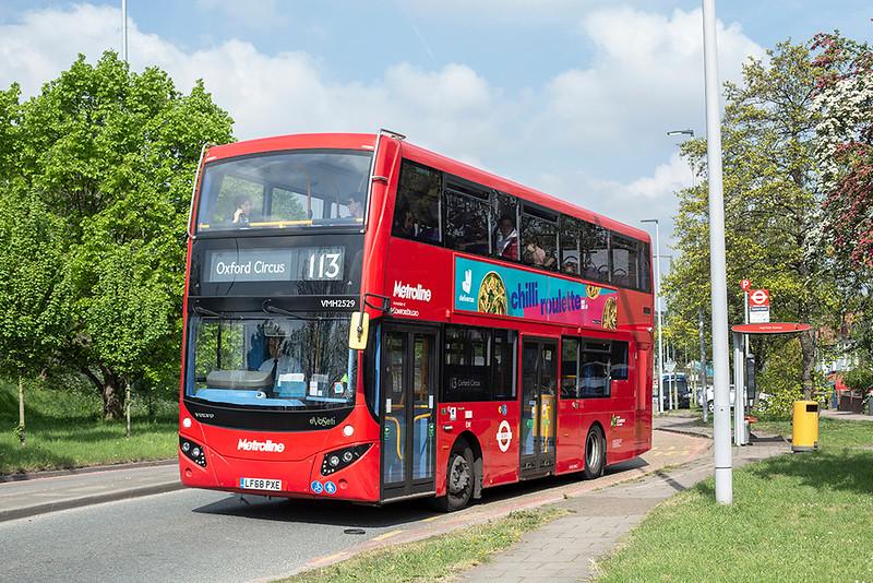 VMH2529 LF68PXE, Brent Cross 30/4/2019