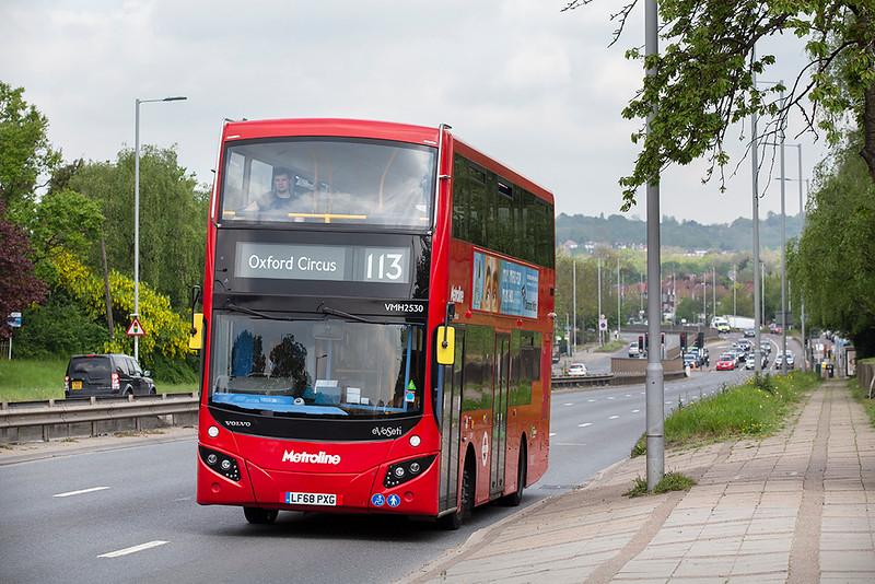 VMH2530 LF68PXG, Hendon 30/4/2019