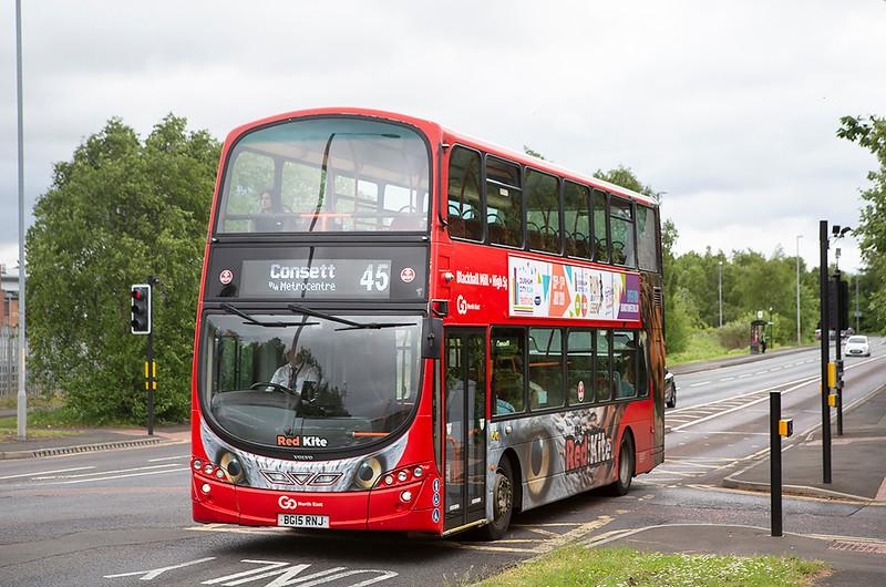 6119 BG15RNJ, Dunston 30/5/2019