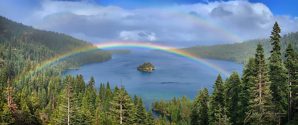 Emerald Bay Rainbow