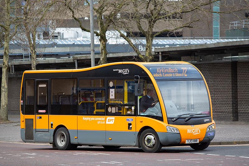 7803 YJ13HNR, Glasgow 1/4/2020