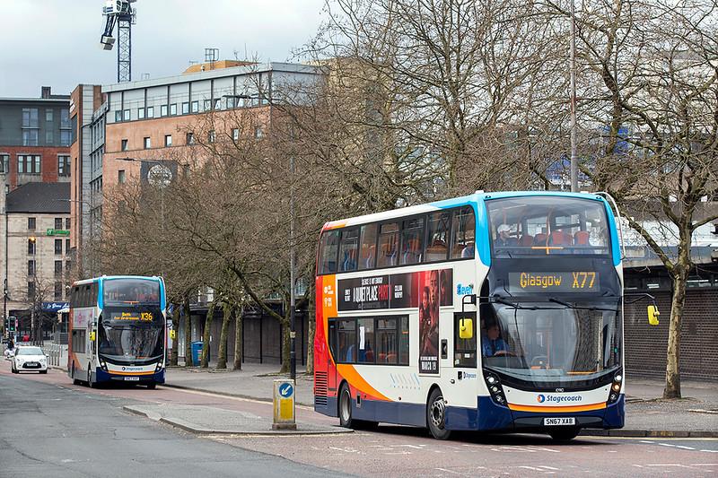 10910 SN67XAB, Glasgow 1/4/2020