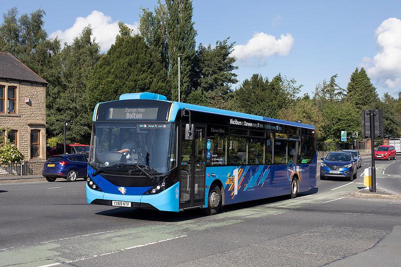 503 YX69NTF, Darwen Vale 1/9/2020