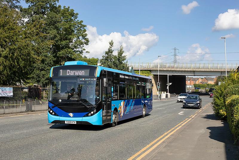 510 YX69NTN, Darwen Vale 1/9/2020