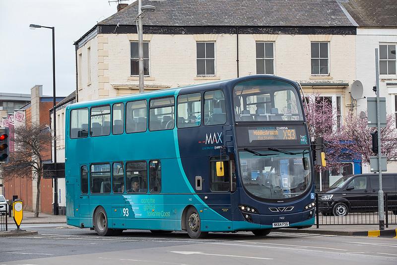 7402 NK64FSG, Middlesborough 4/3/2020