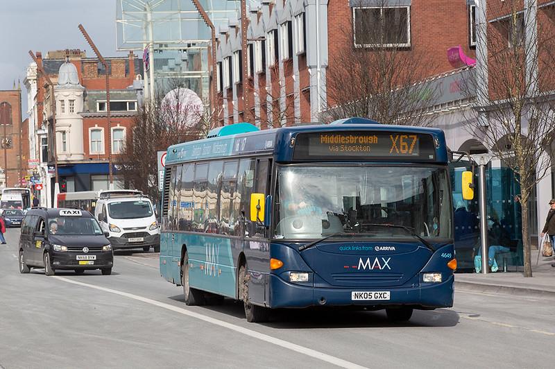 4649 NK05GXC, Stockton-on-Tees 4/3/2020