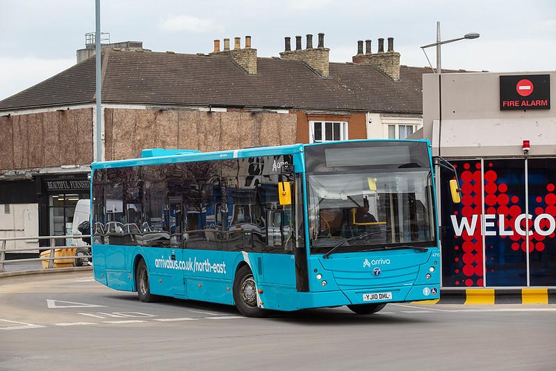 4715 YJ10DHL, Middlesborough 4/3/2020
