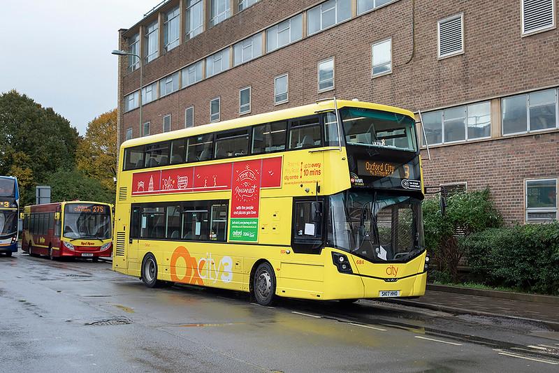 684 SK17HHD, Oxford 8/10/2020
