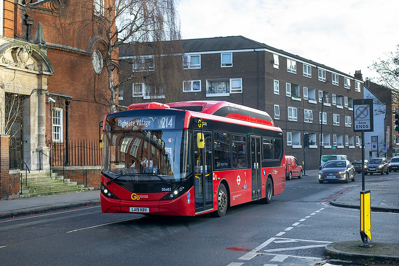 SEe82 LA19KBV, Mornington Crescent 9/1/2020