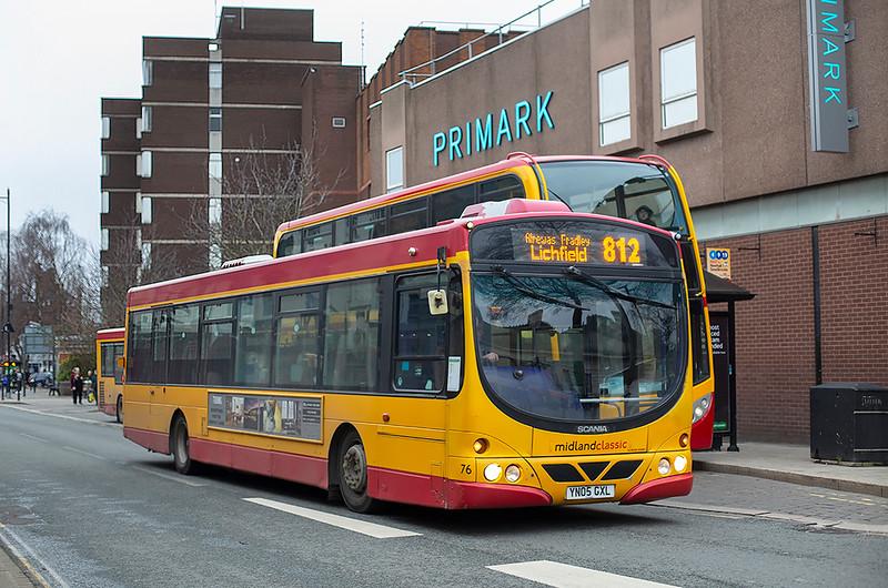 76 YN05GXL, Burton upon Trent 10/2/2020