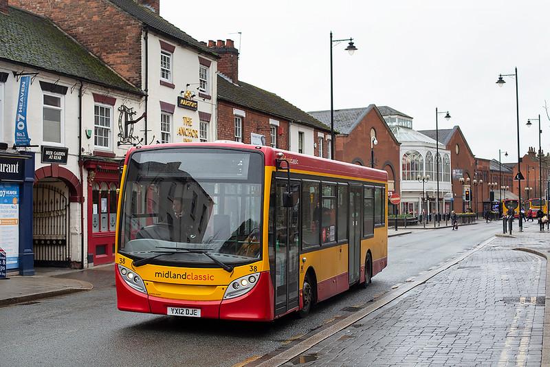 38 YX12DJE, Burton upon Trent 10/2/2020