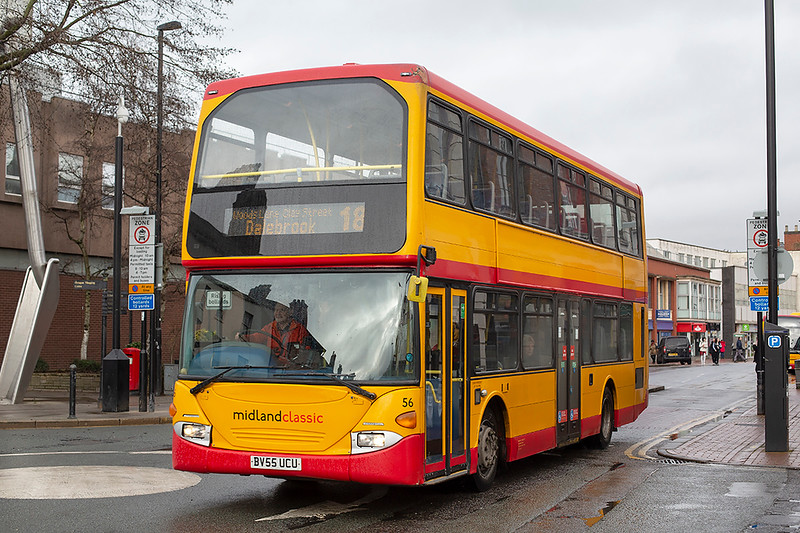 56 BV55UCU, Burton upon Trent 10/2/2020