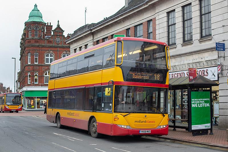 61 YN08MKO, Burton upon Trent 10/2/2020