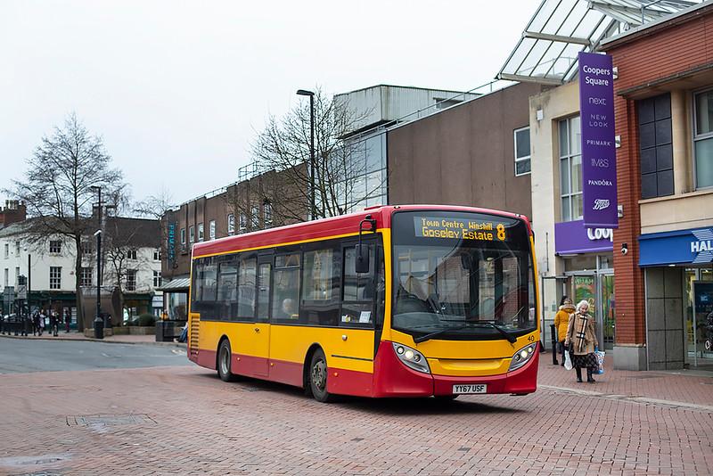 40 YY67USF, Burton upon Trent 10/2/2020