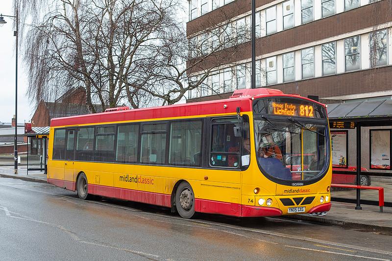 74 YN05GXG, Burton upon Trent 10/2/2020
