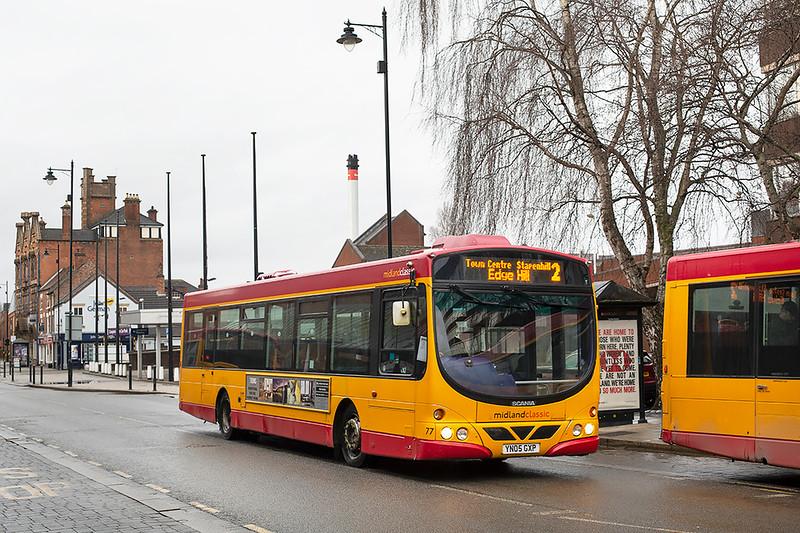 77 YN05GXP, Burton upon Trent 10/2/2020