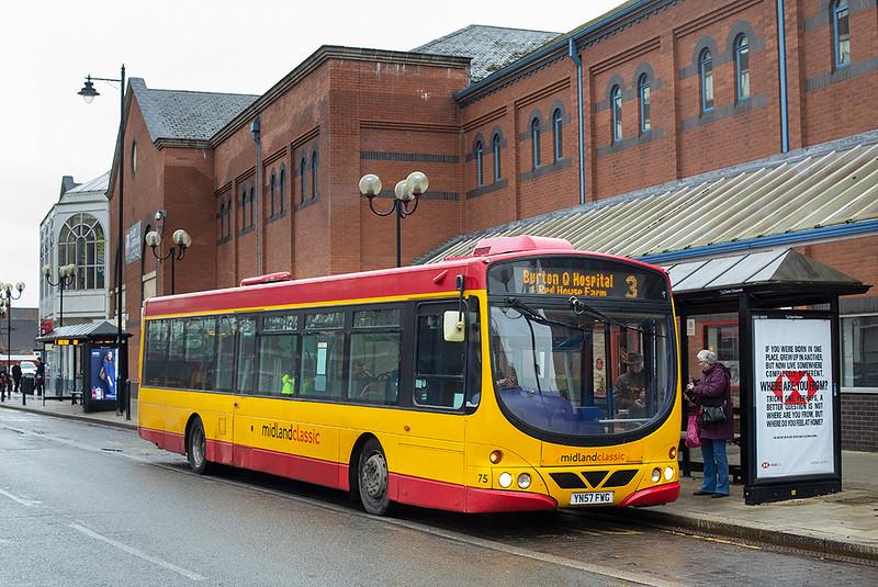 75 YN57FWG, Burton upon Trent 10/2/2020