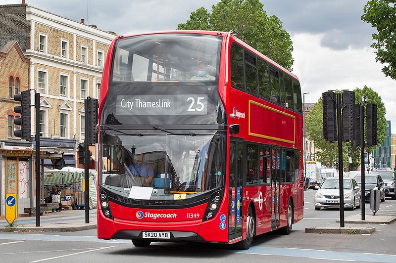 11349 SK20AYB, Whitechapel 11/7/2020